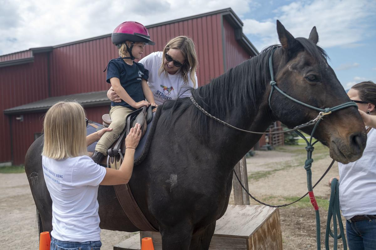 Therapeutic riding summer camp