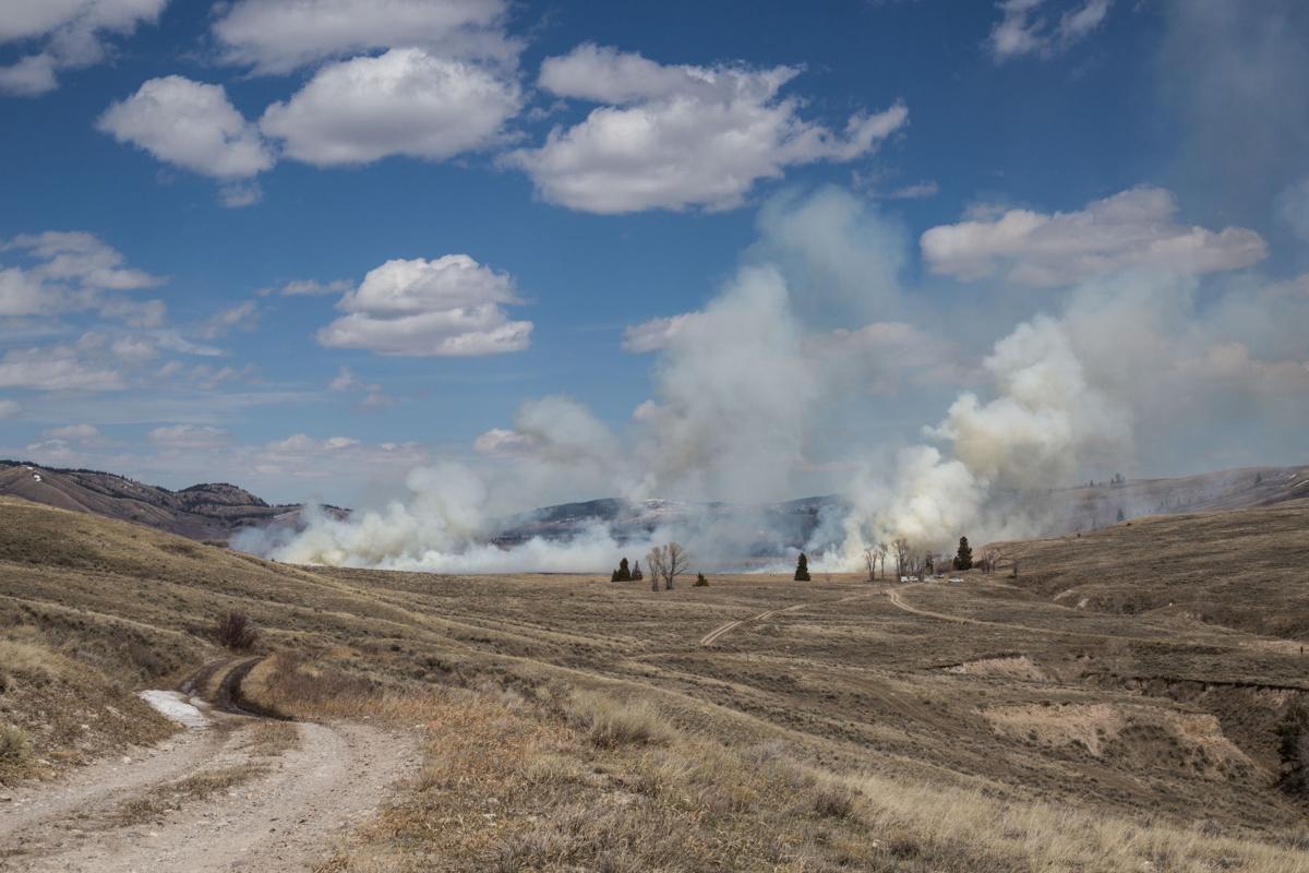 National Elk Refuge prescribed burn