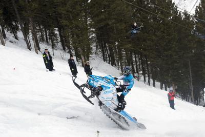 43rd annual World Championship Snowmobile Hill Climb