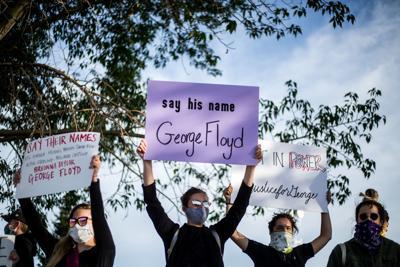 Pinedale Black Lives Matter protest