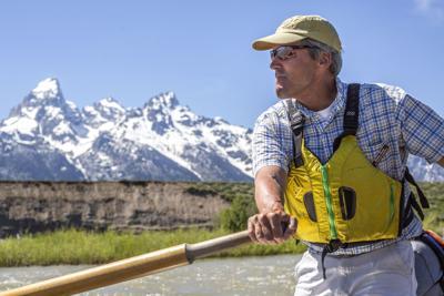 Grand Teton National Park float