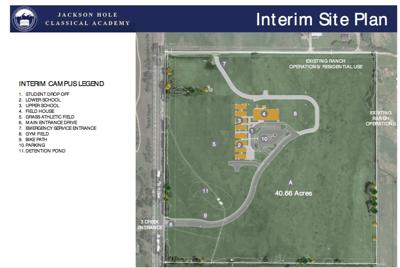 Classical Academy interim site plan