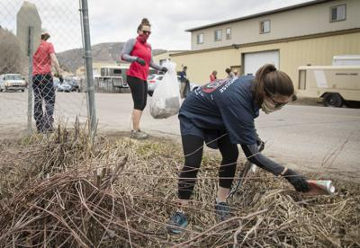 Fine Dining group cleans up Gregory Lane for Earth Day