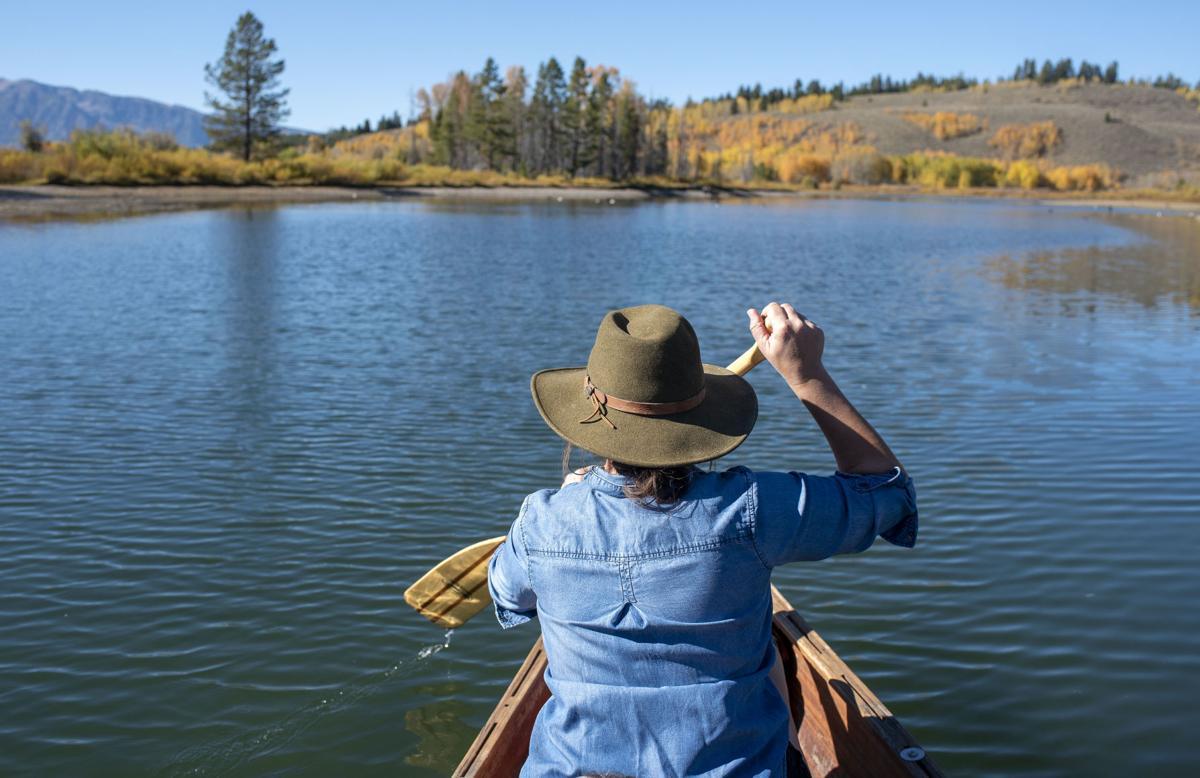 Oxbow Bend canoe