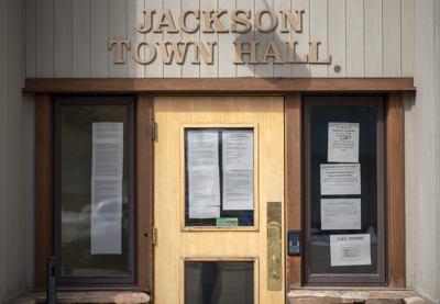 Jackson Town Hall closed