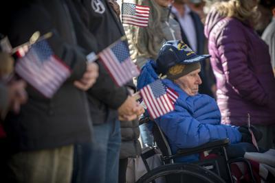 On square and elsewhere, Jackson celebrates veterans