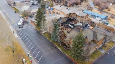 Rusty Parrot Lodge and Spa fire