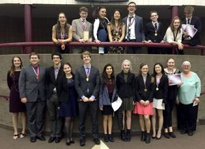 High school debate cleans up at state