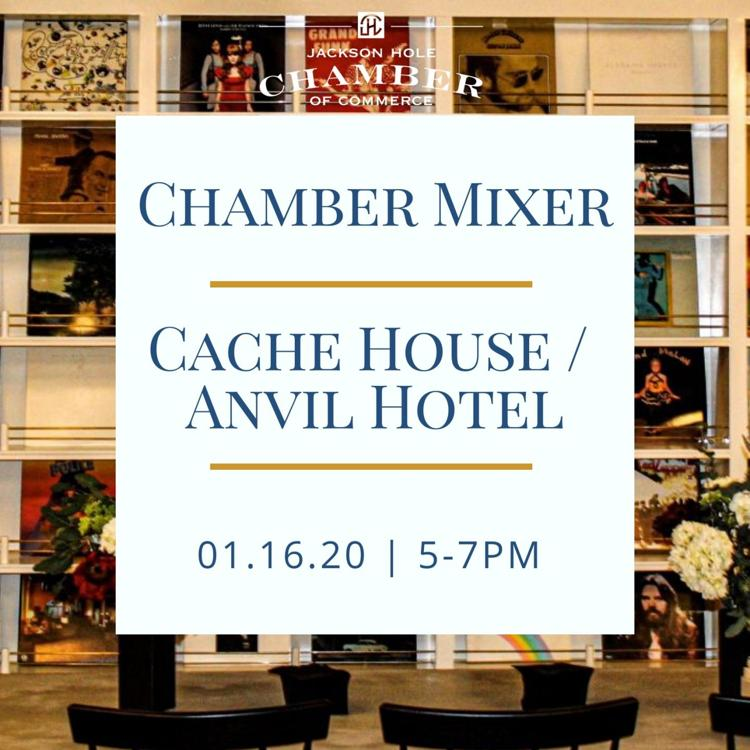 Cache House / Anvil Hotel Mixer