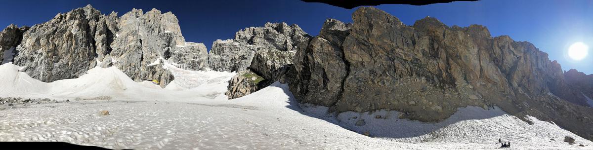 Teton Glacier rescue