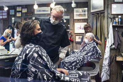 Teton Barber reopens