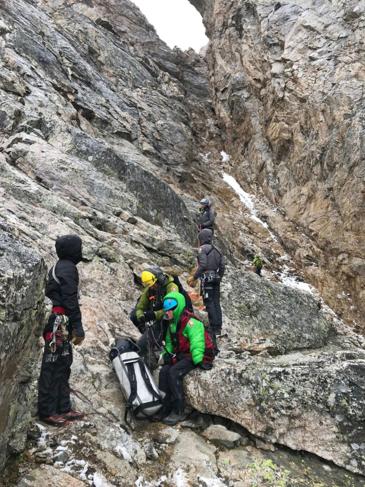 Middle Teton rescue
