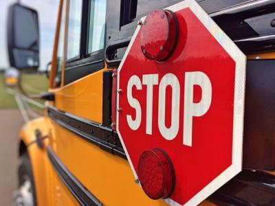 Stop for school busses