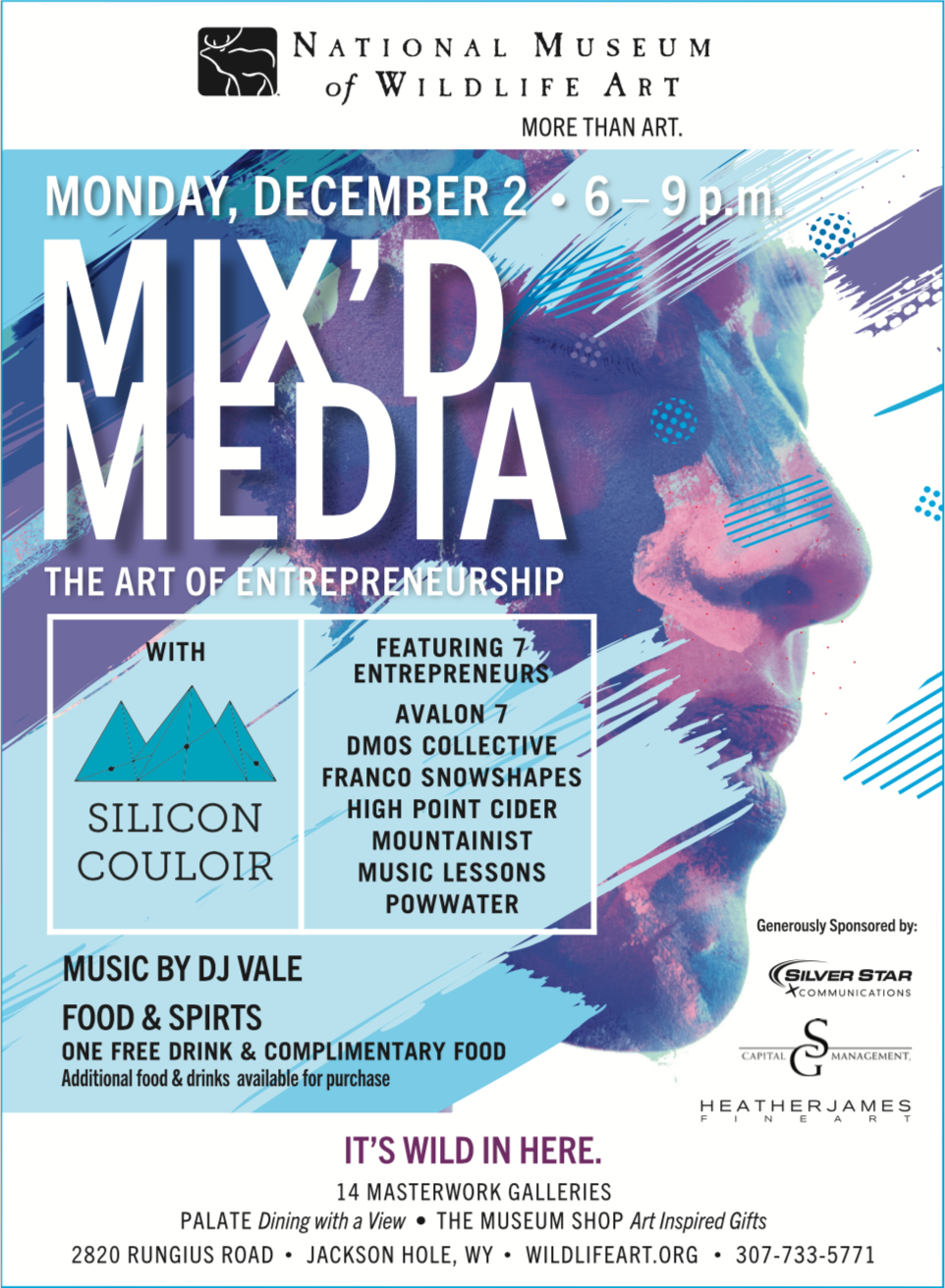 December Holiday Party + Mixe'd Media Team Up for The Art of Entrepreneurship