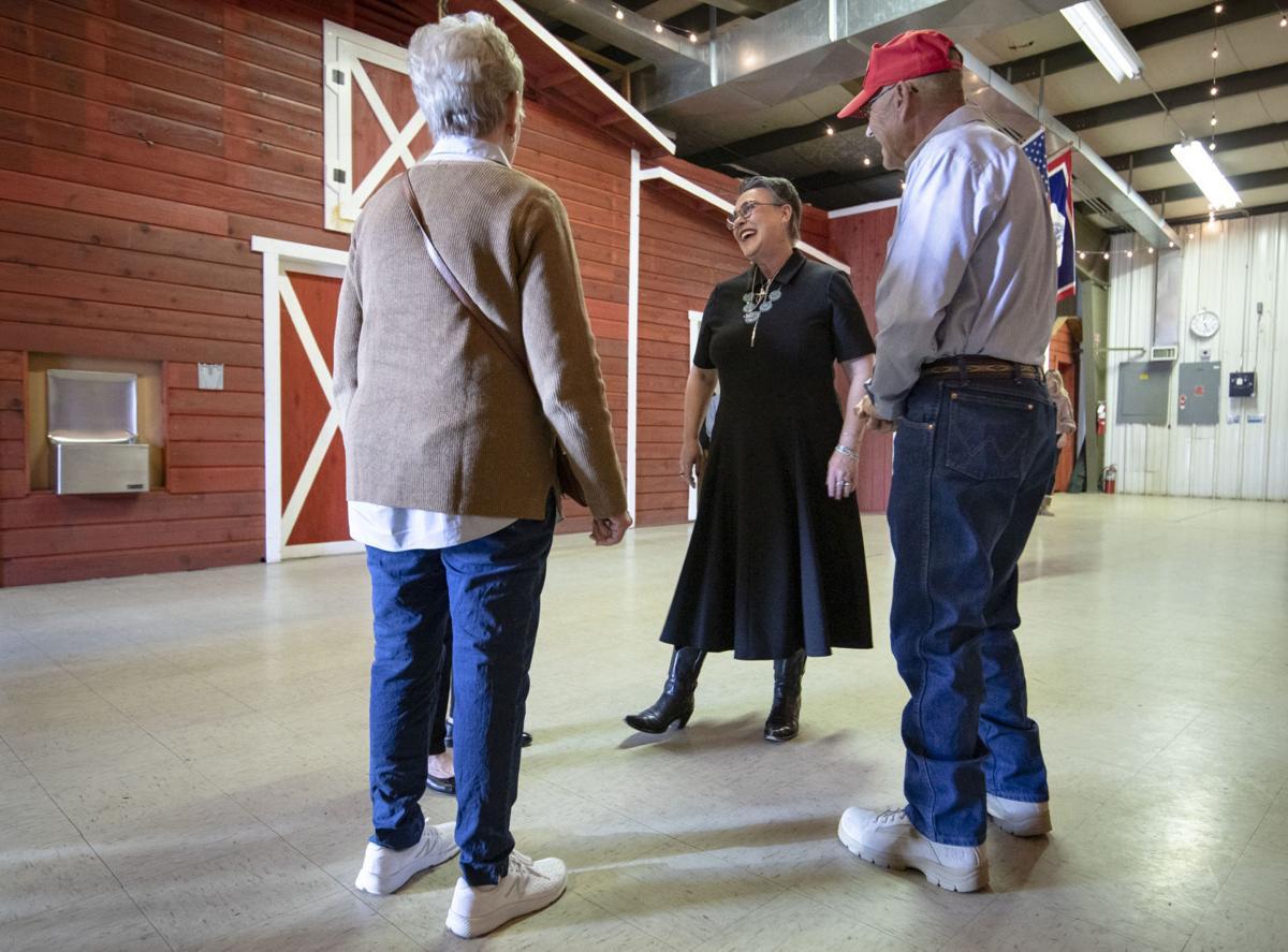 Harriet Hageman meets with Jackson public