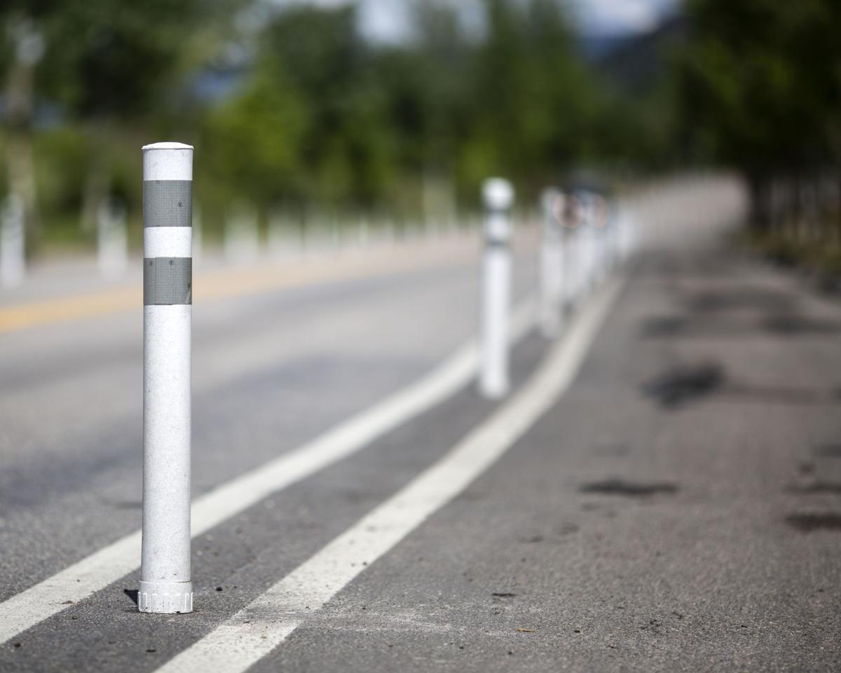 Snow King Avenue bike lanes
