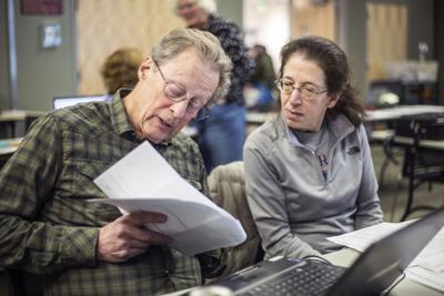 Tax prep volunteers