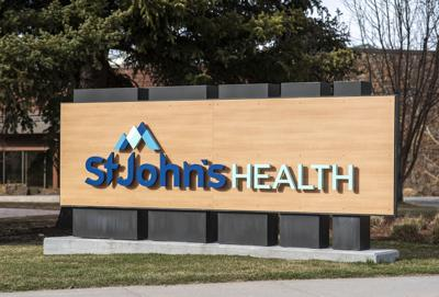 Saint Johns Health sign