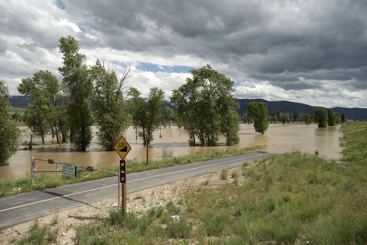 Gros Ventre River flood mitigation