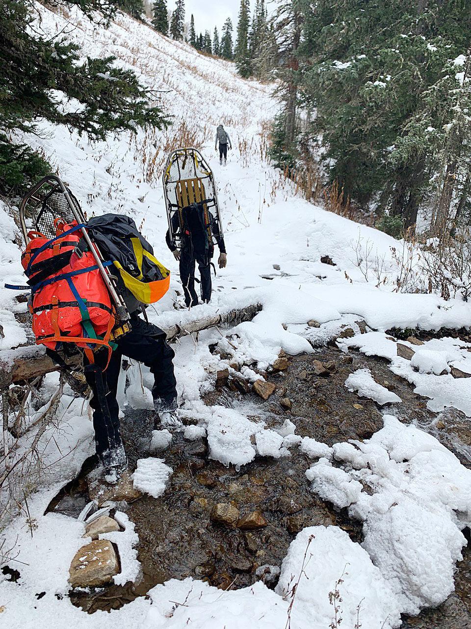 Cache Creek rescue
