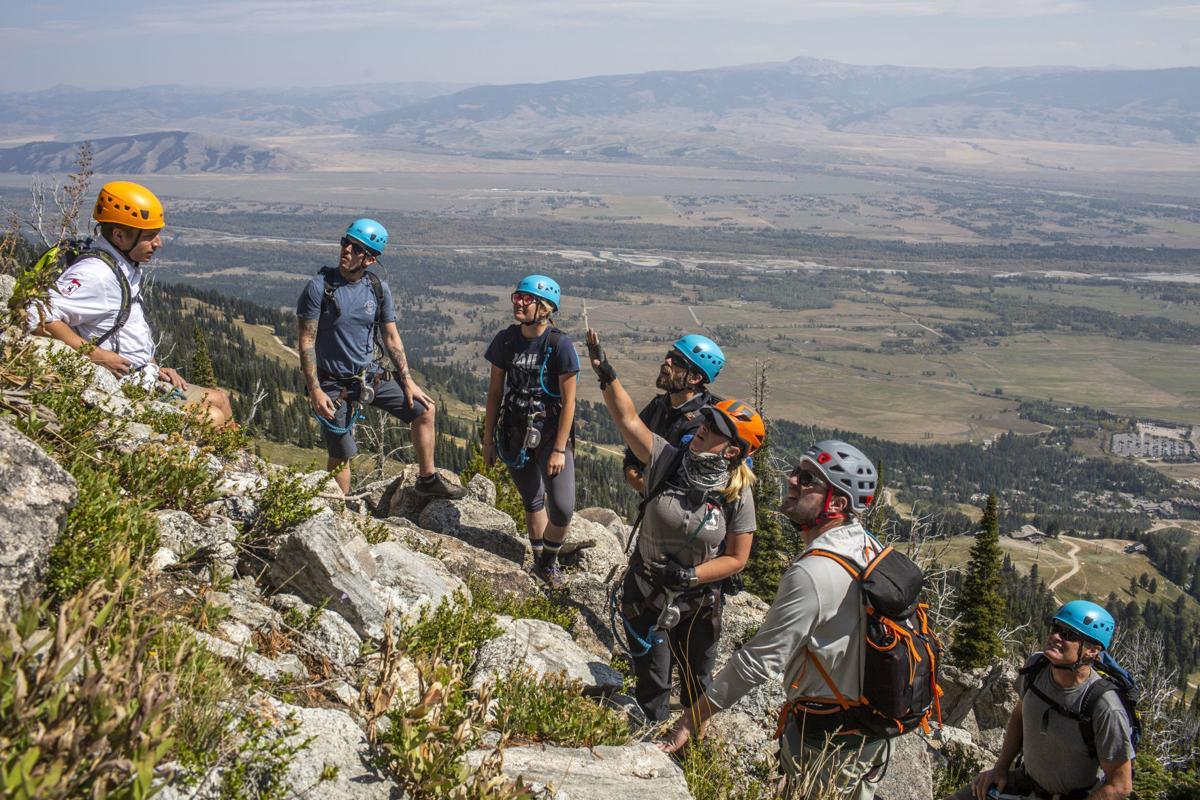 Veterans climb Via Ferrata