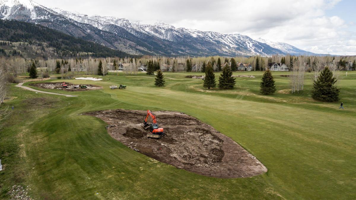 Teton Pines course work