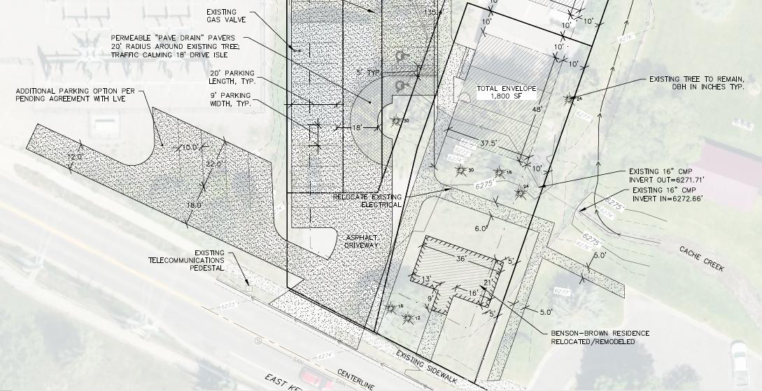 Brown property plan