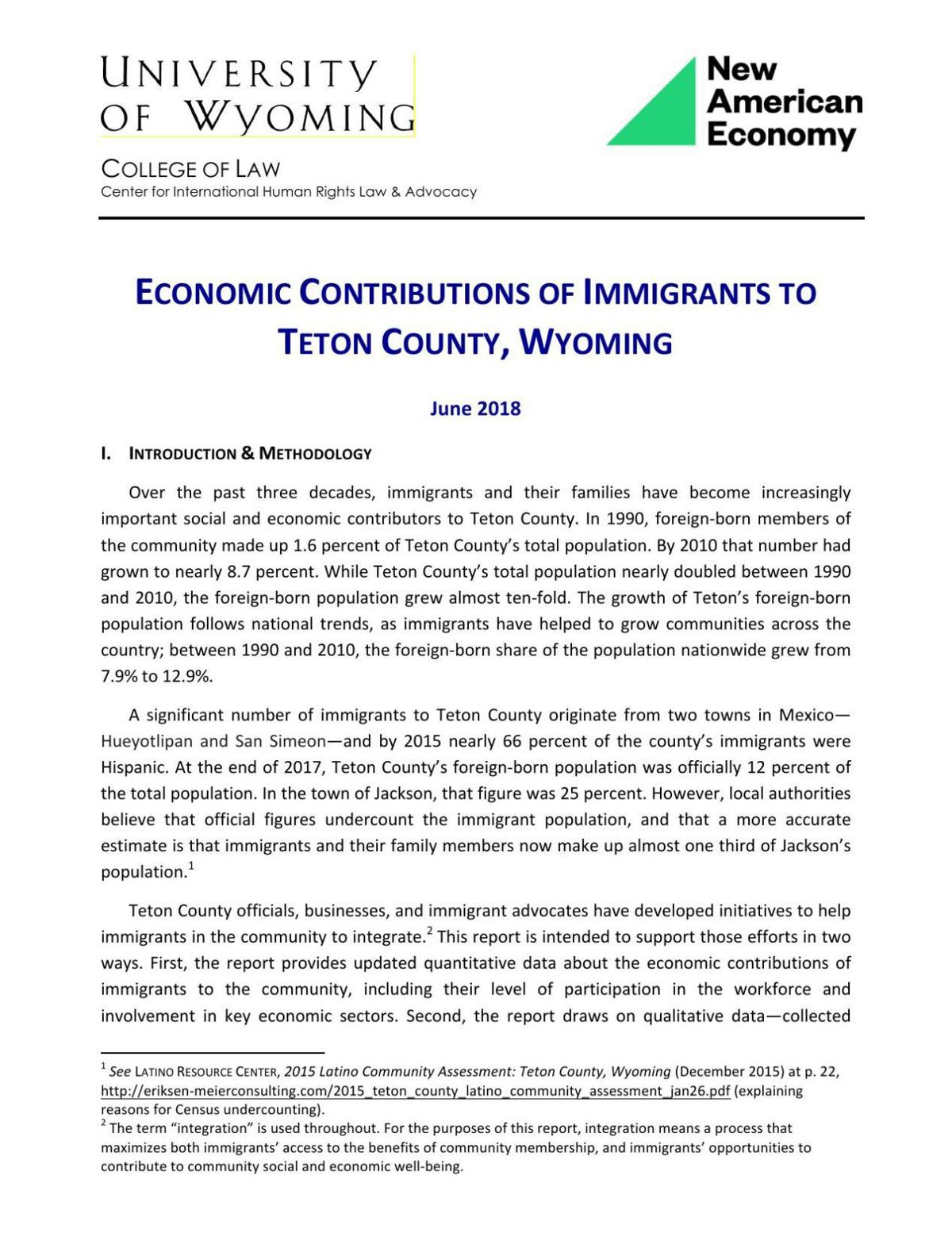 Report says Latinos drive Jackson economy   Town & County