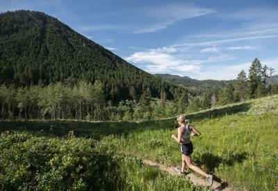 Cache to Game Creek trail run