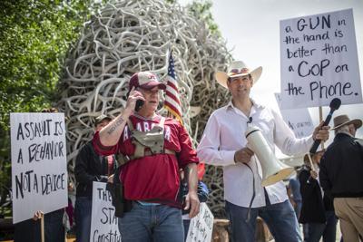 Second Amendment demonstration