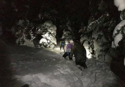 Granite Canyon rescue