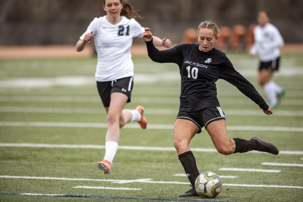 Girls soccer vs. Green River