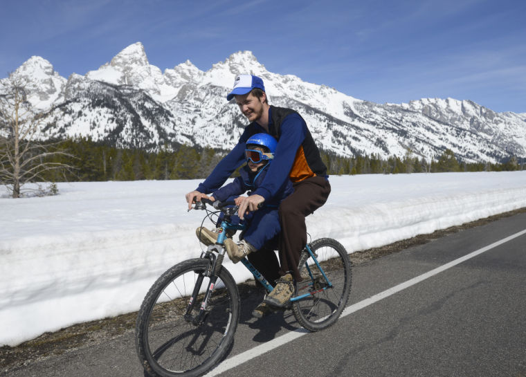 Pedaling Under The Peaks Features Jhnewsandguidecom
