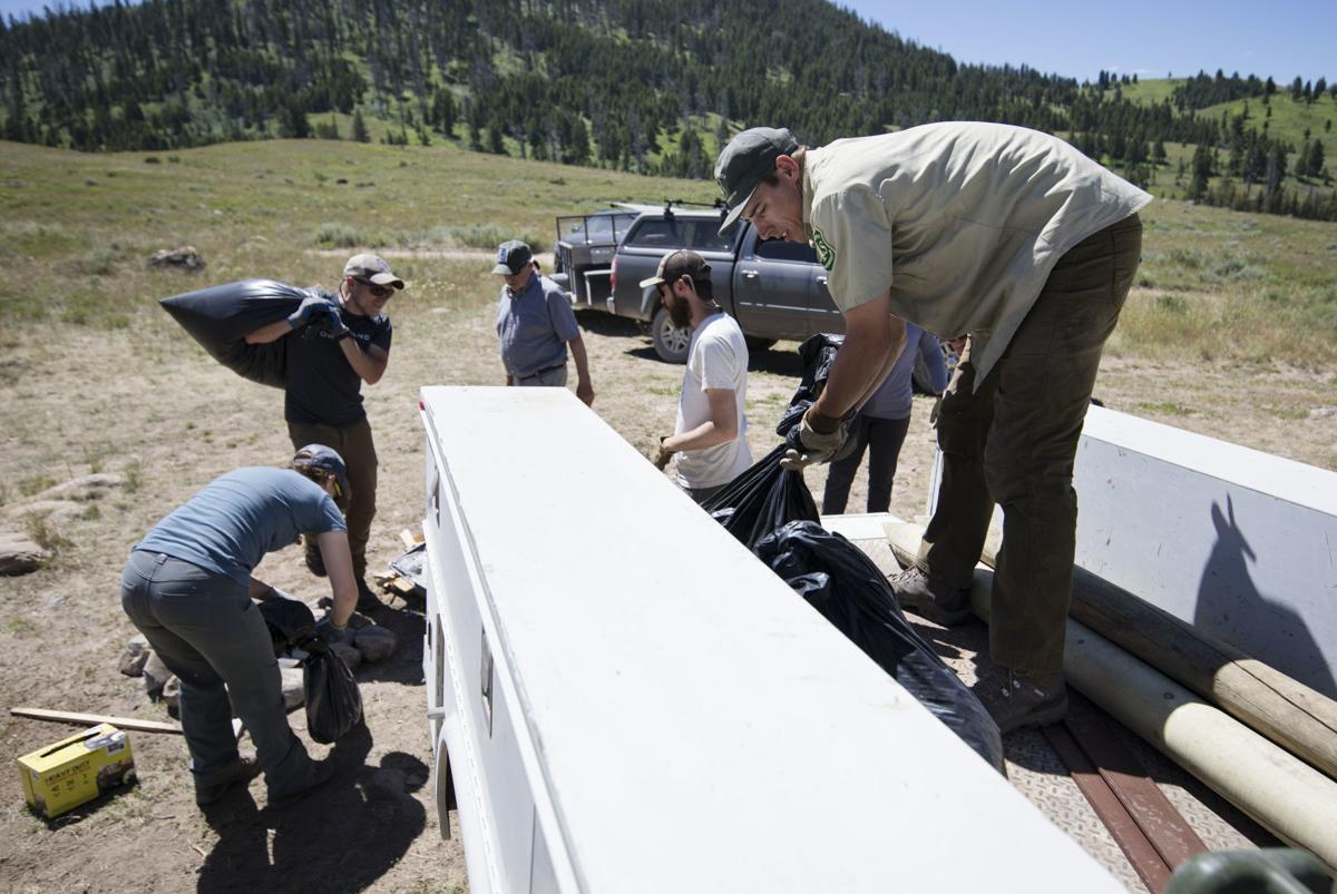 BHA cleans up Flat Creek shooting area