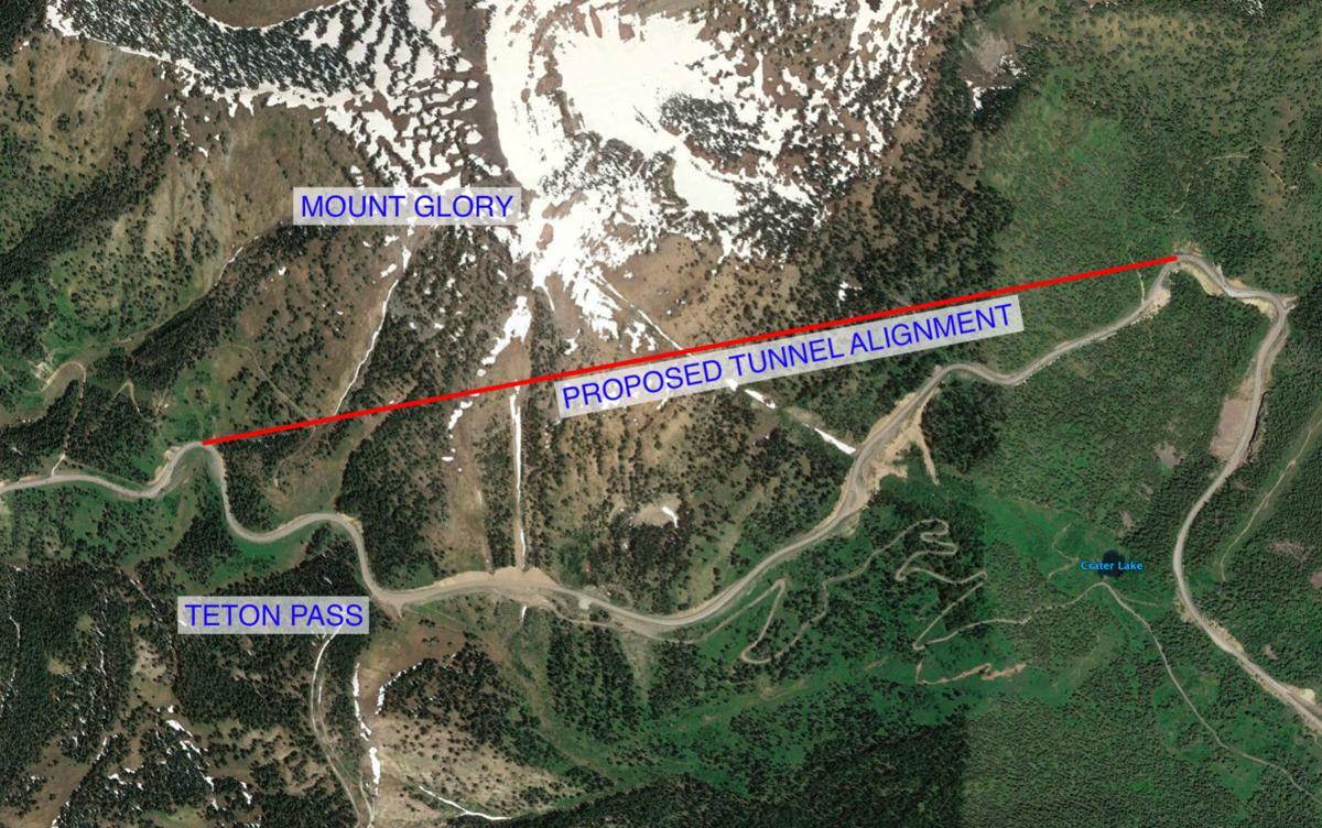 Teton Pass tunnel - 2013 feasibility study