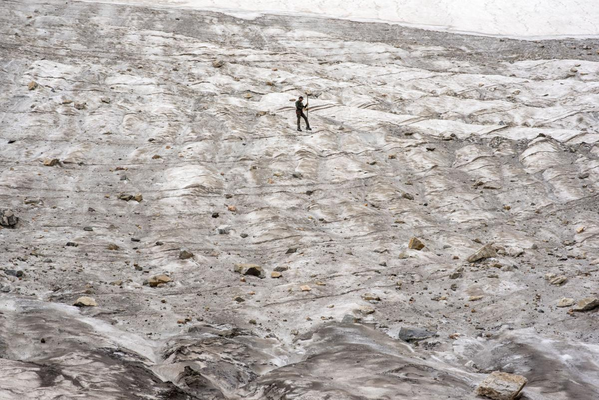 Middle Teton Glacier study