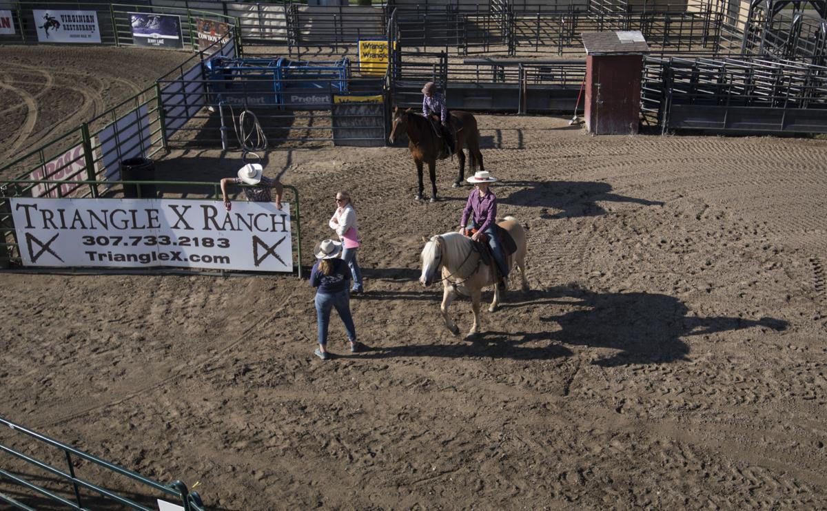 Teton County Fair Western Dressage competition