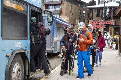 START bus at Teton Village
