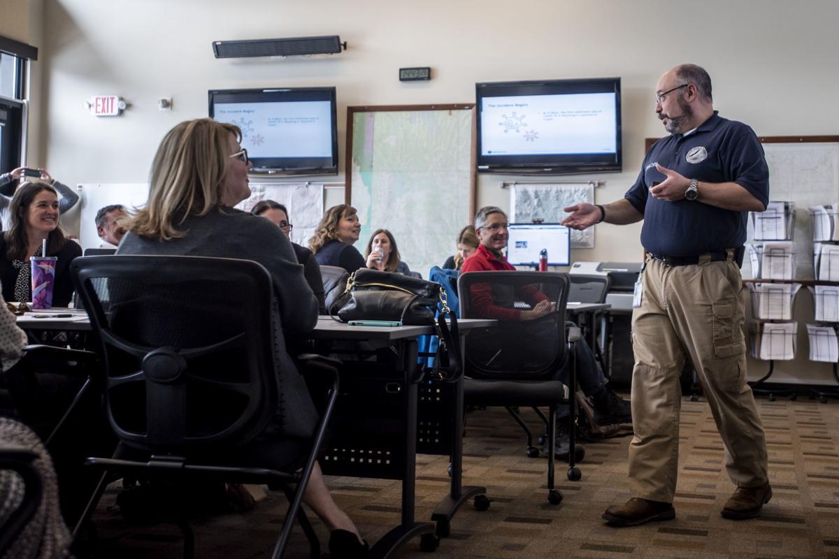 Teton County Emergency Management COVID-19 meeting