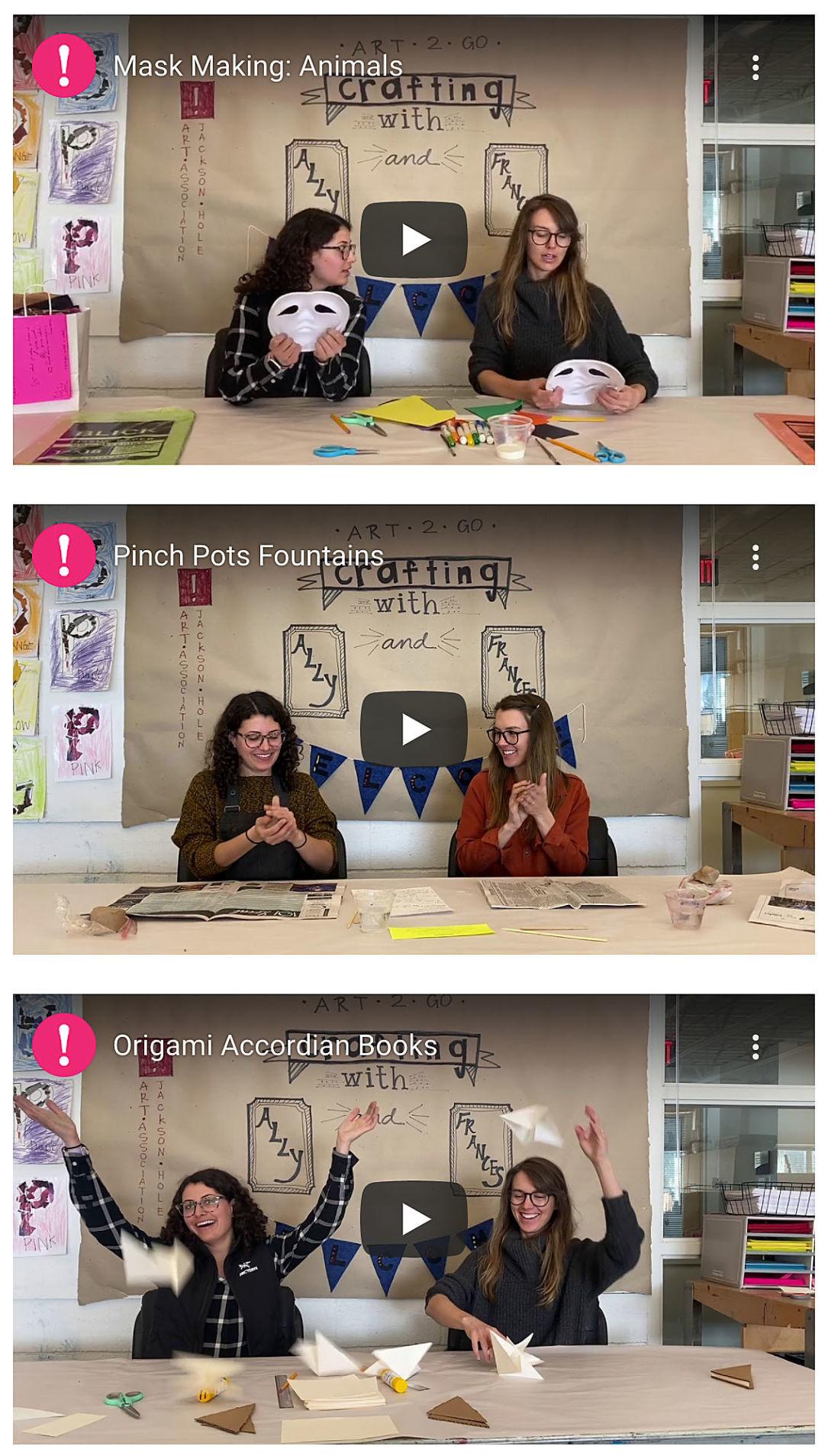 Art Association tutorials