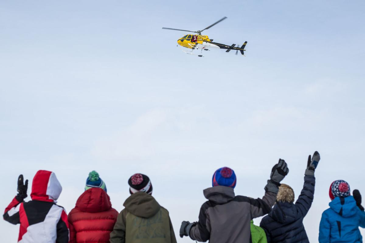 Santa Claus flies with Teton County Search and Rescue