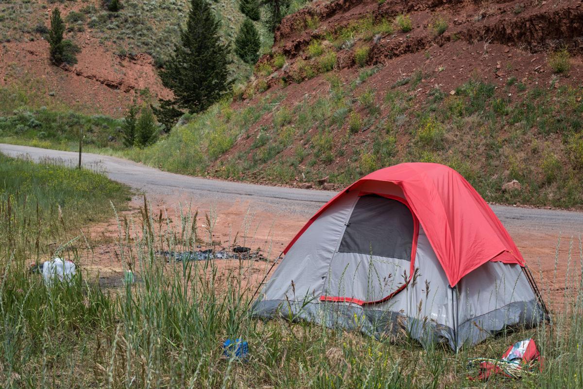 Bridger-Teton National Forest camping