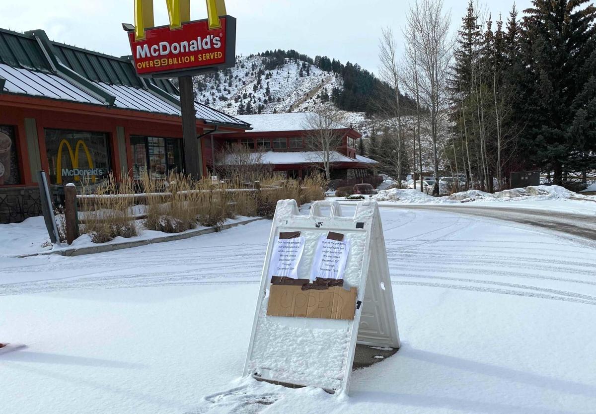 McDonald's temporarily closed for COVID-19