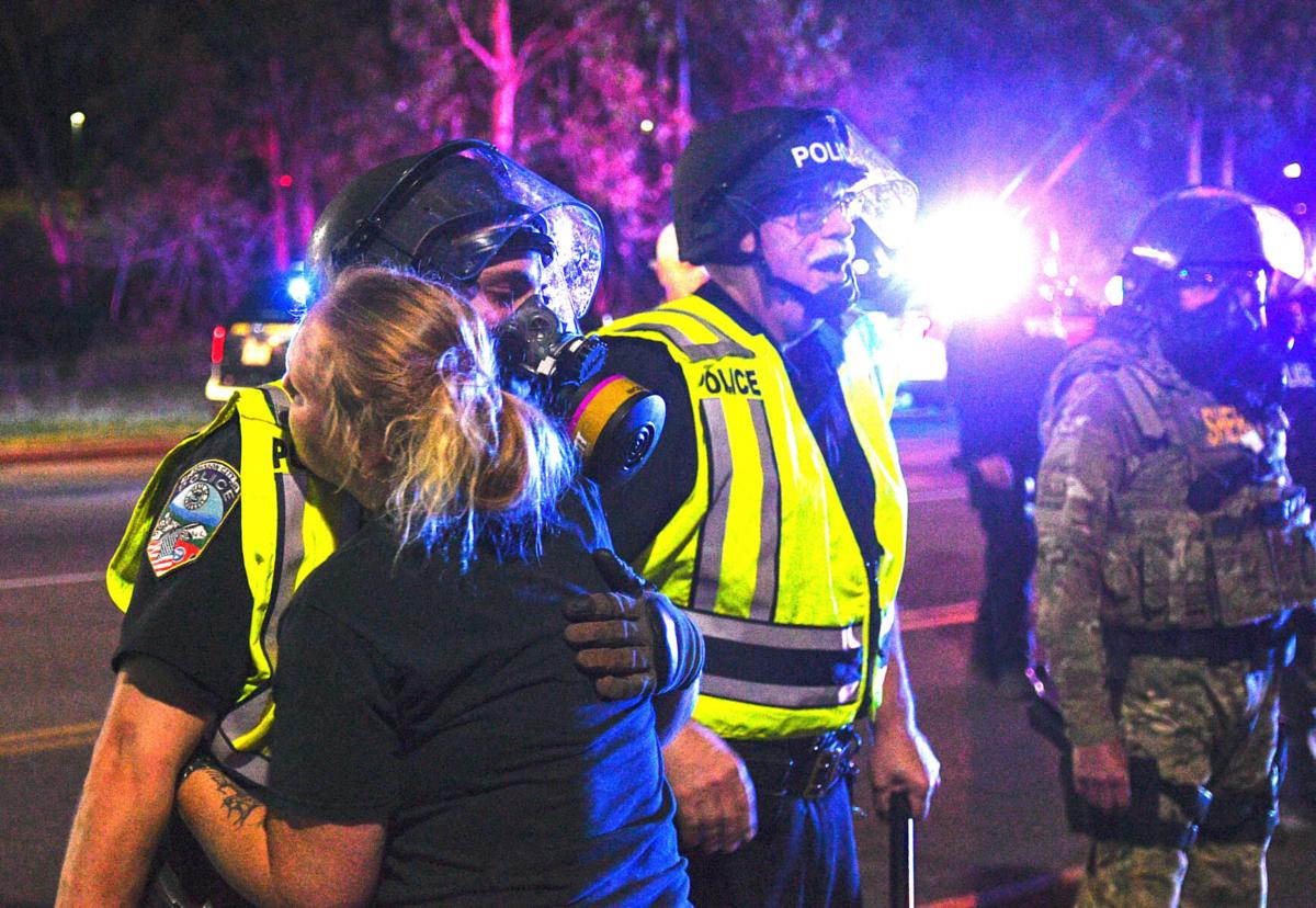 Police chief: Johnson City protestors forced arrests by refusing to leave roads