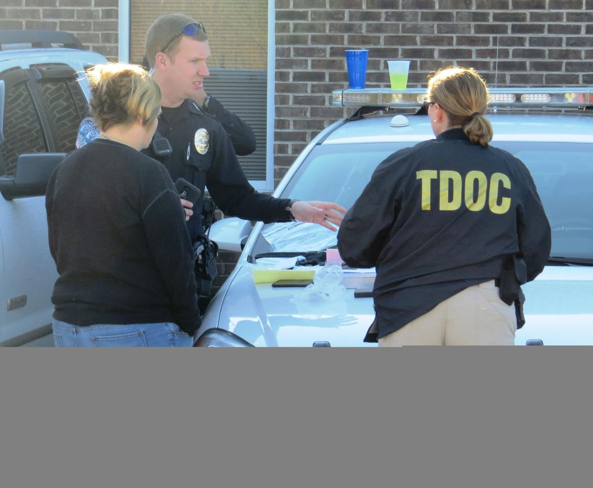 Two dozen arrested in TDOC probation office sweep