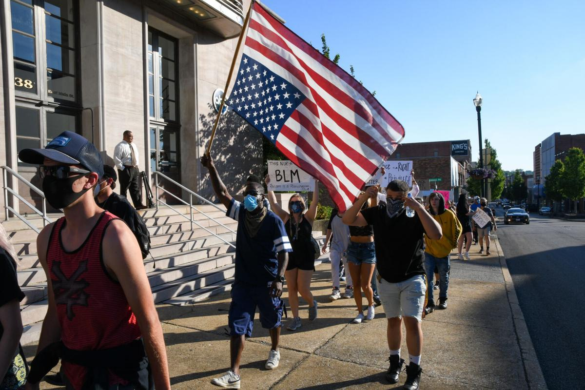 Peaceful protests continue in Johnson City