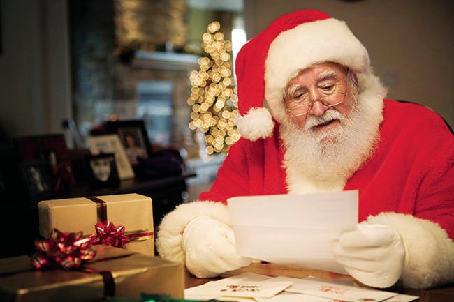 Polar express mail: Press asking for letters to Santa Claus