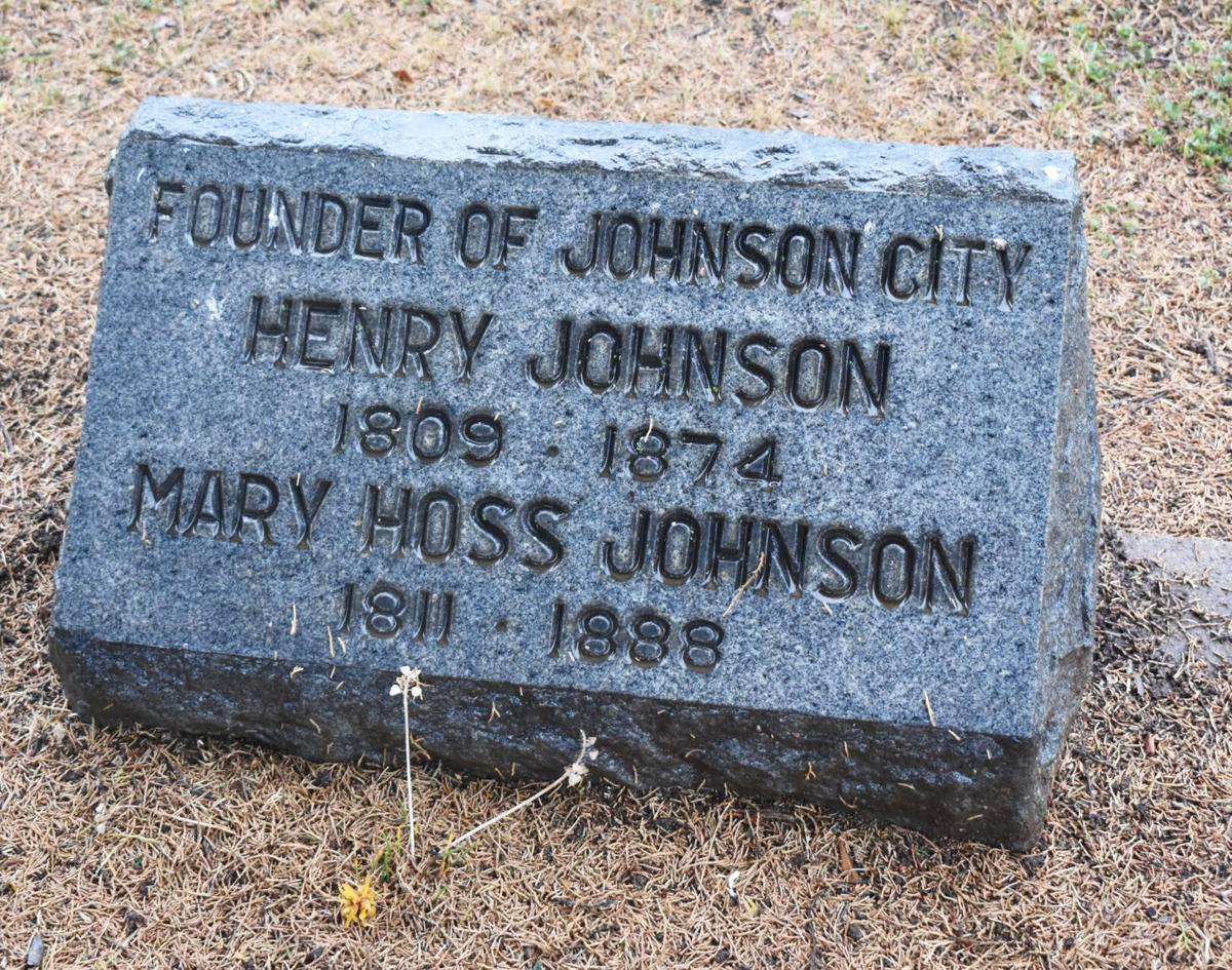 Johnson grave marker