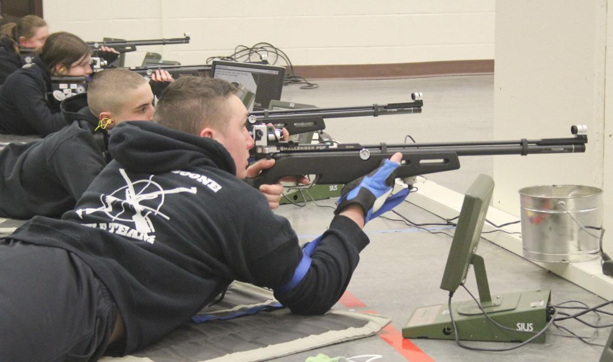 Daniel Boone High School Marine Corps Junior Reserve Officer Training Corps Marksmanship Team