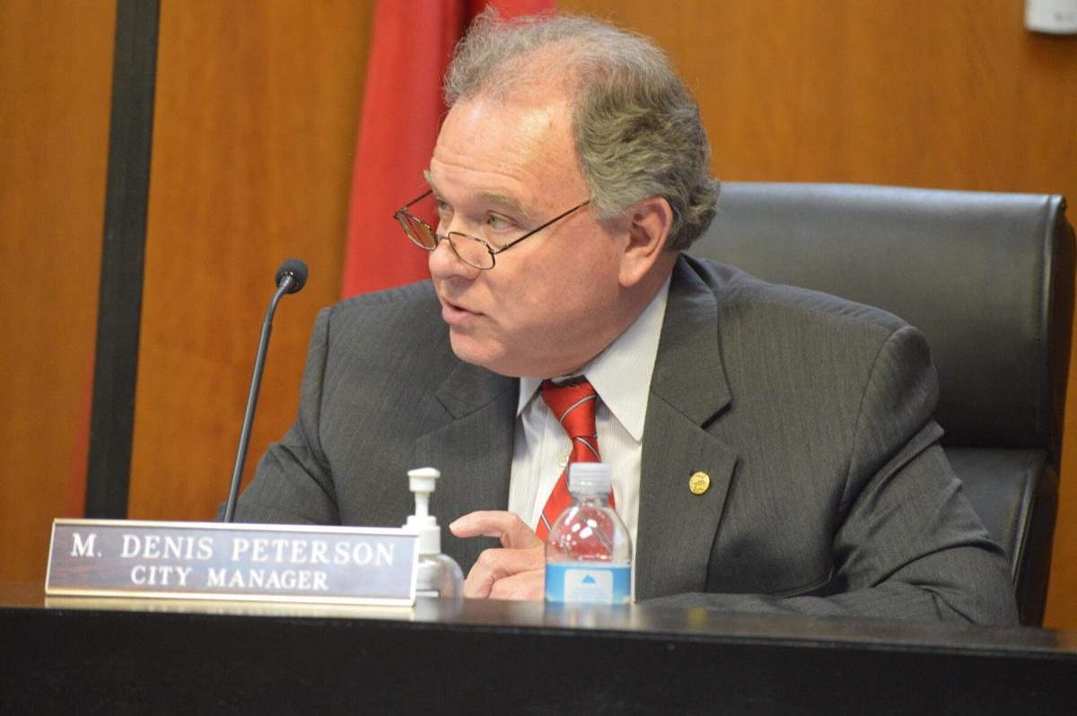 City Manager Pete Peterson